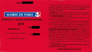 carte stationnement pro paris Stationnement à Paris   CAPEB Grand Paris